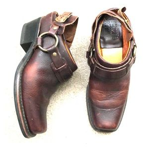 FRYE Leather Slingback Shoes